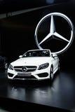 Cabriolet van Mercedes Benz S 300 Stock Fotografie