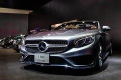 Cabriolet van Mercedes Benz S 500 Royalty-vrije Stock Foto's