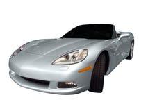 cabrioletbilen fast royaltyfria foton