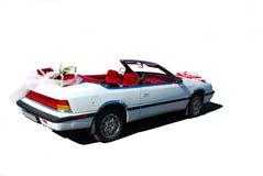cabrioletbröllop Royaltyfria Bilder