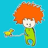 Cabrito con el juguete libre illustration