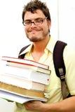 Cabrito de Geeky que vuelve a la escuela Imagenes de archivo