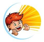 Cabrito de grito ilustración del vector