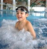 Cabrito de la natación imagenes de archivo