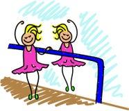 Cabrito del ballet stock de ilustración