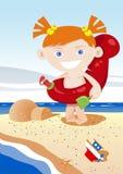 Cabrito del verano que se divierte libre illustration
