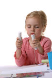 Cabrito preescolar Imagen de archivo libre de regalías