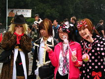 Cabritos de Harajuki Foto de archivo