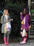 Cabritos de Harajuki fotos de archivo libres de regalías