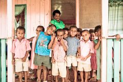 Cabritos de la escuela Fotografía de archivo libre de regalías