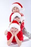 Cabritos de la Navidad Fotografía de archivo libre de regalías