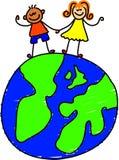 Cabritos del globo Imagen de archivo libre de regalías