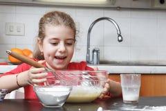Cabritos en la cocina Fotografía de archivo