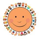 Cabritos felices Imagenes de archivo