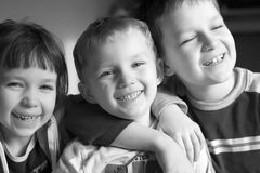 Cabritos felices Fotografía de archivo libre de regalías
