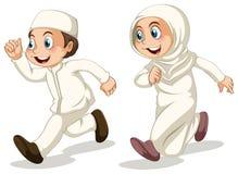 Cabritos musulmanes ilustración del vector