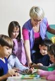 Cabritos preescolares Imagenes de archivo