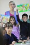 Cabritos preescolares fotos de archivo libres de regalías