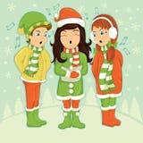 Cabritos que cantan Imágenes de archivo libres de regalías