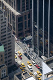Manhattan Bird View Royalty Free Stock Photo