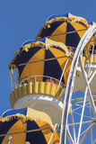 Cabs Ferris wheel Royalty Free Stock Images