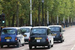 Cabs in London Royalty Free Stock Images