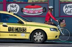 13CABS Melbourne Australia Royalty Free Stock Images