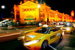 13CABS Melbourne Australien Fotografering för Bildbyråer