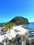 Cabugao Gamay, ilha de Gigantes, vista cênico imagem de stock royalty free