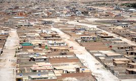 Cabul - vista aerea 2 Fotografia Stock