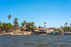 Cabure lighthouse in the Lencois National Park, Brazil. Cabure lighthouse in the Lencois Maranheses National Park Stock Image