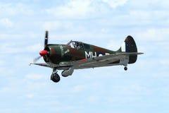 CAC bumerang - WWII RAAF wojownik obraz royalty free