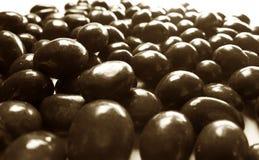 Cacahuetes de choklad Arkivbild