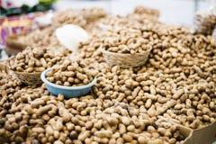 Cacahuetes de los cacahuetes de los cacahuetes Fotos de archivo libres de regalías