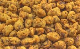 Cacahuetes fritos Fotografía de archivo libre de regalías
