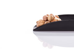 Cacahuetes hervidos Foto de archivo libre de regalías