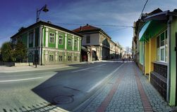 Cacak downtown royalty free stock photo