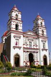 cacalomacan kyrka Royaltyfri Bild