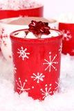 Cacao à Noël Photo libre de droits