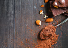 cacao Royalty-vrije Stock Foto's