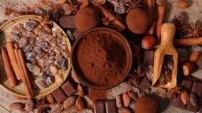 Cacao assortito immagine stock libera da diritti