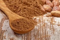 Cacao baclground Royalty Free Stock Images