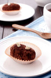 Cacao cakes. Homemade russian traditional cakes with cacao Royalty Free Stock Photos