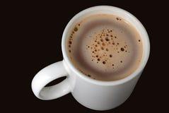 Cacao caldo in una tazza Fotografia Stock