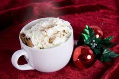 Cacao de la Navidad Imágenes de archivo libres de regalías