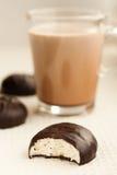 Cacao et guimauve Photos libres de droits