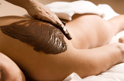 Cacao massage Stock Image