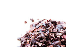 Cacao nibs Stock Photography