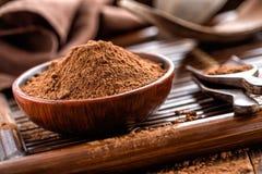 Cacao in polvere immagini stock libere da diritti