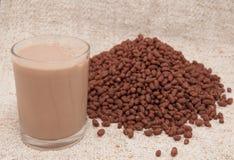Cacao Rice Crispies Imágenes de archivo libres de regalías